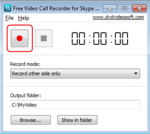 start to record call