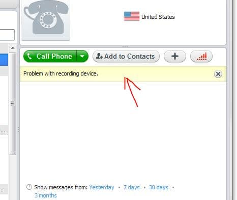 problem with playback device skype how to fix it