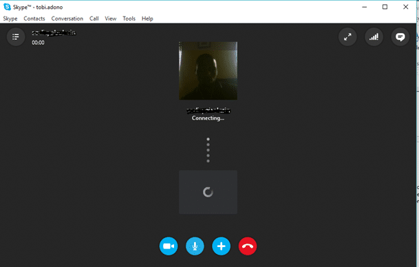recording a video call