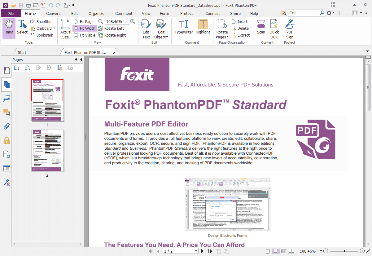Foxit PhantomPDF Standard_big