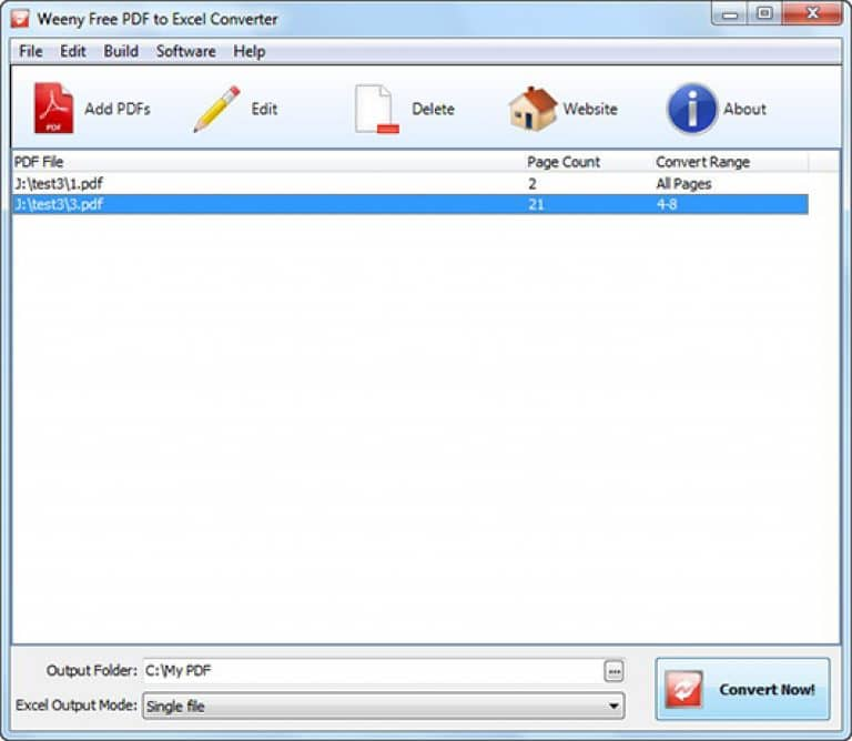 software pdf to excel converter free download