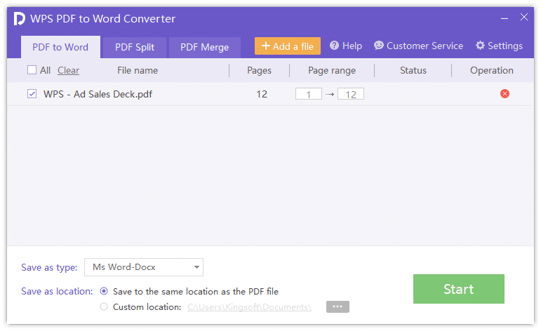 12 Best PDF To Word Converter Software (Offline - Free Download)
