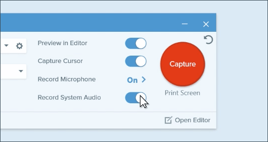 Screen and Webcam Capture