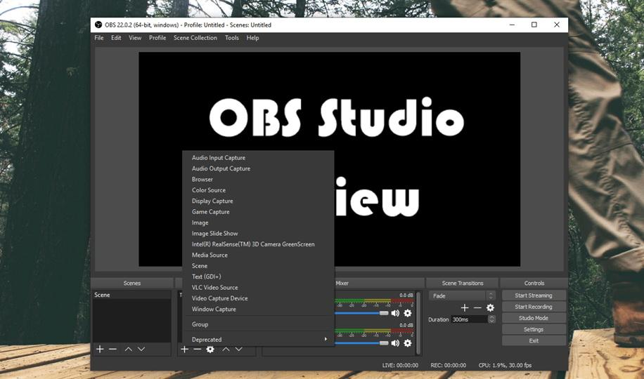 OBS Studio Review - 32 Bit & 64 Bit for Windows PC Free Download