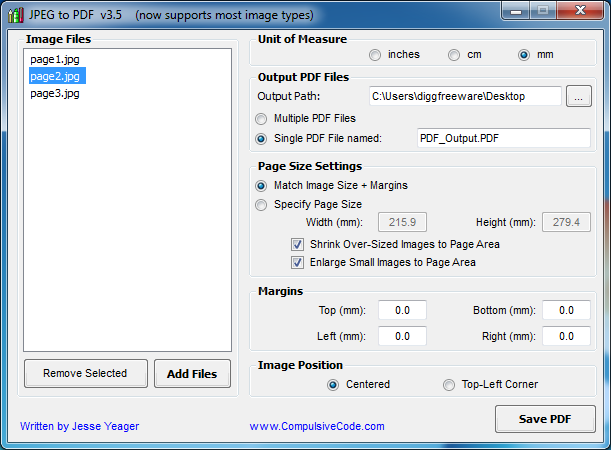 convert to pdf from jpg free software