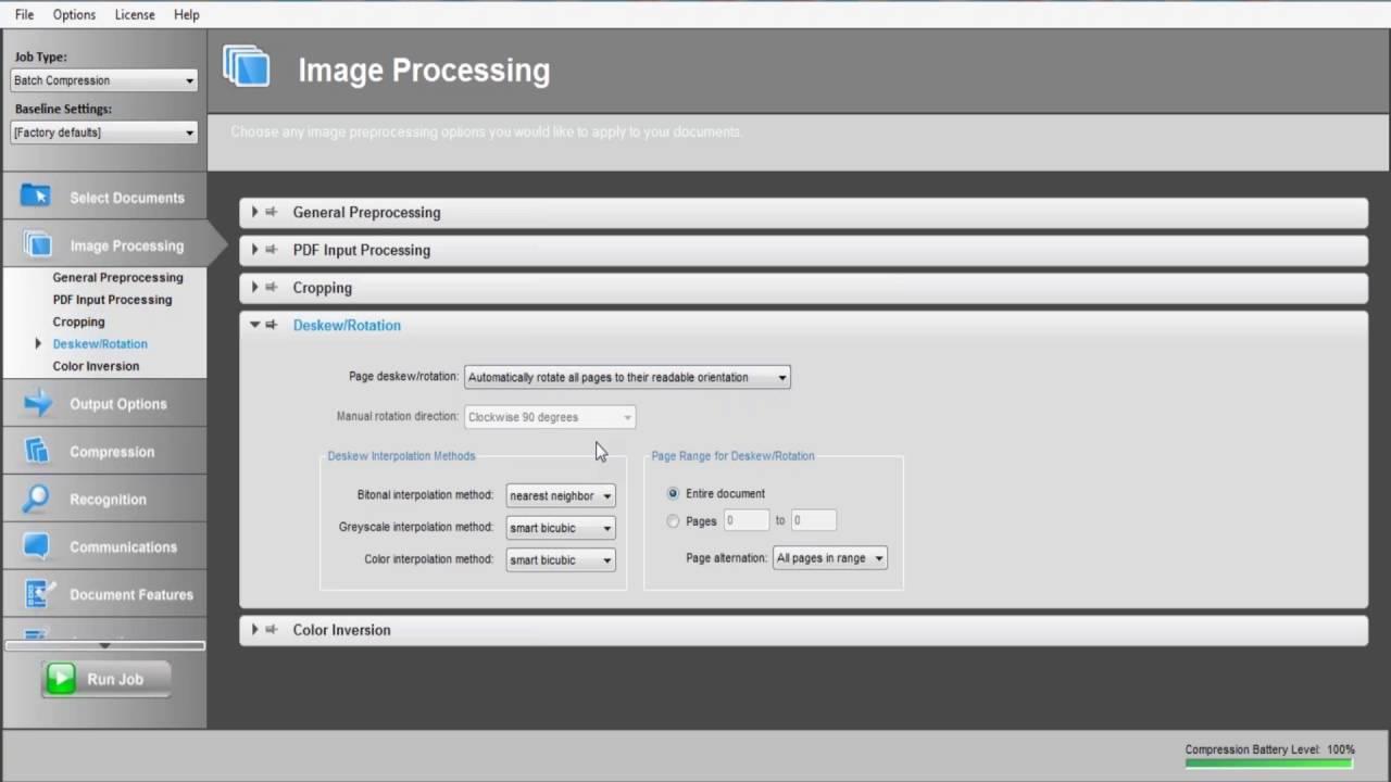 Cvision PDF Compression