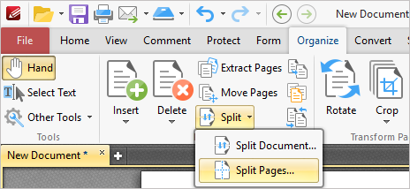 how to rotate a document in pages