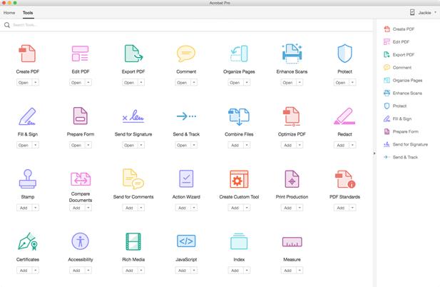 Adobe Acrobat DC For Mac