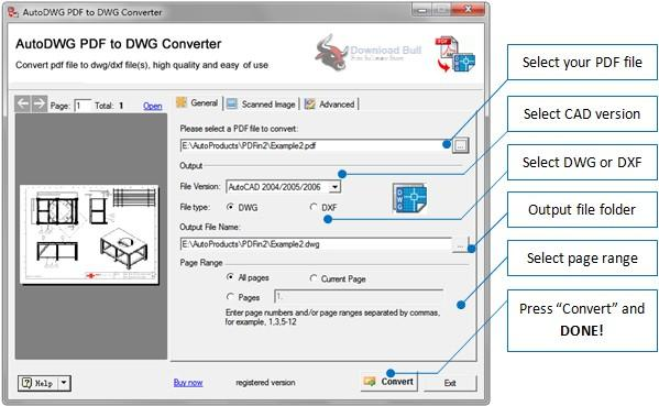 pdf to autocad dwg converter free download full version