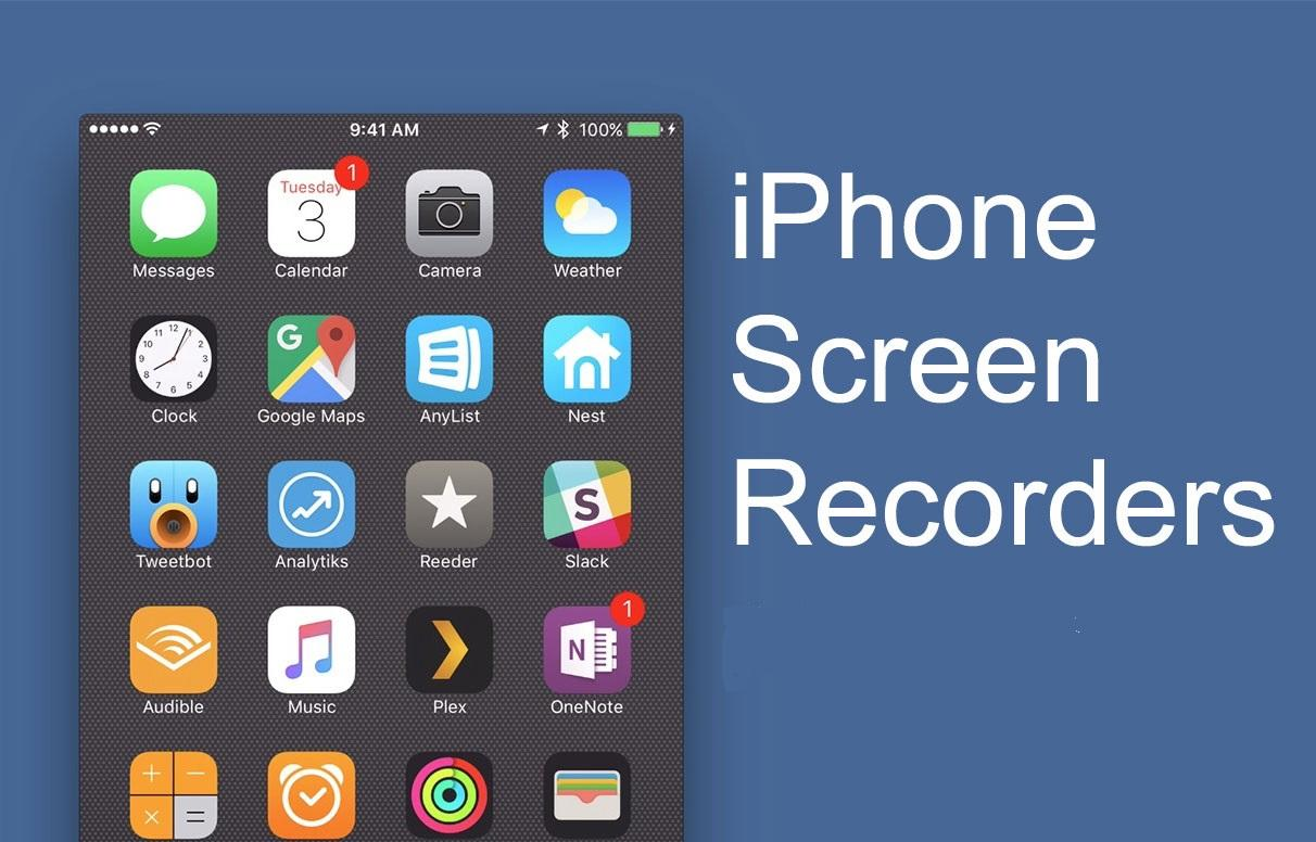 8 Best iOS Screen Recorder App For iPhone / iPad (Without Jailbreak) |  TalkHelper