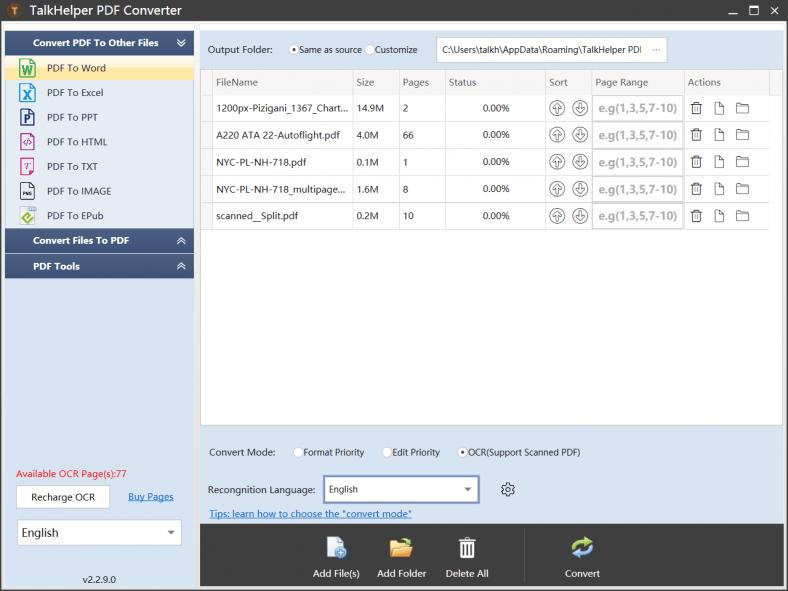 TalkHelper_PDF_Converter_
