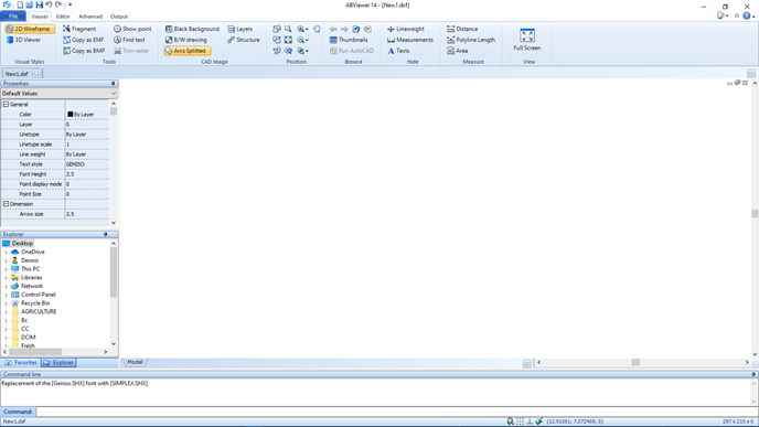 ABViewer-main-window