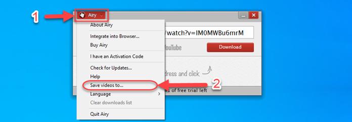 Define an Output Folder