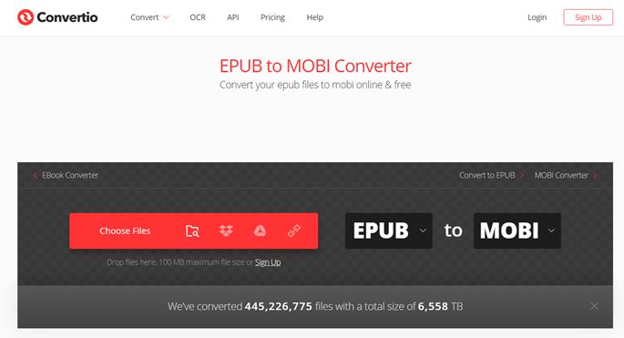 Convertio-ePub-To-MOBI