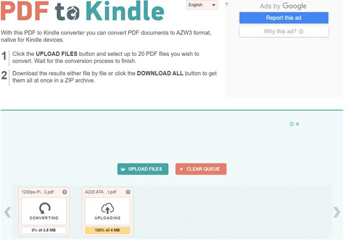 PDF2Kindle