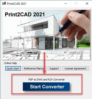 start converter