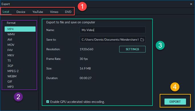 export-video-formats