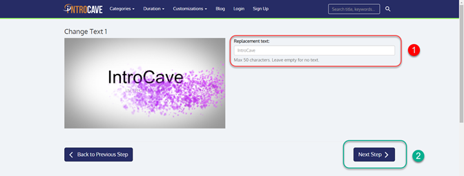 personalize_text_introcave