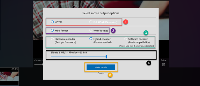 select-movie-output-format