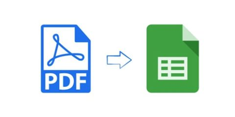 how to import pdf into excel