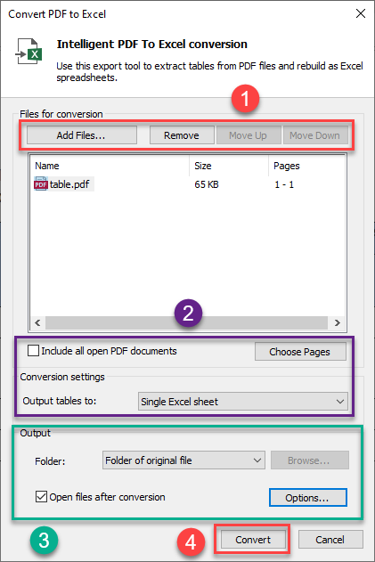 refine-output-options