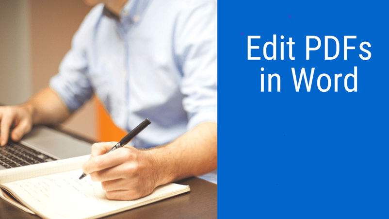 edit pdfs in word
