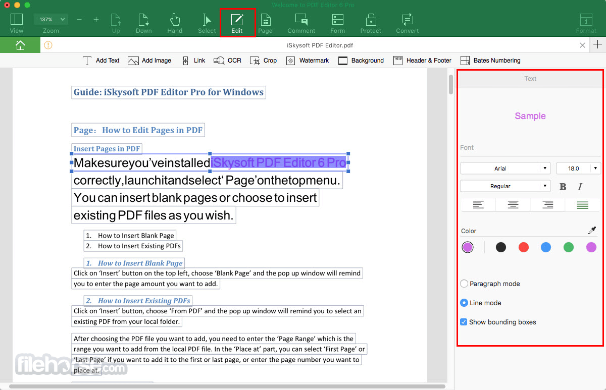 iskysoft-pdf-editor-pro-mac-screenshot-02