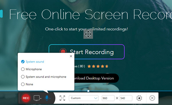 apowersoft free screen recorder