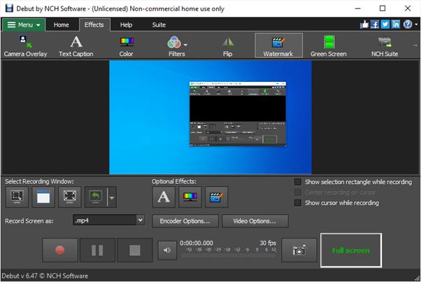 debut_audio_video_capture