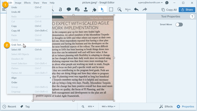 extract-text-from-image-snagit