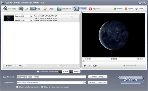 EasiestSoft Video Converter-2