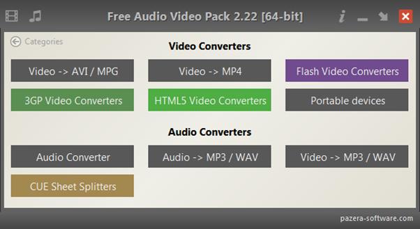 Pazera-Video-audio-pack