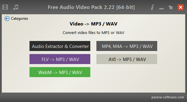 pazera-video-mp3-converter