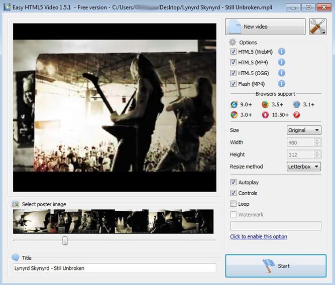 easy-html5-video-converter